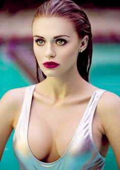 Holland Roden photographed by Courtney Dailey.