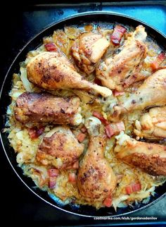 Piletina, kupus i krompir. Bosnian Recipes, Croatian Recipes, Kiflice Recipe, Croatian Cuisine, Slow Cooker Recipes, Cooking Recipes, Appetizer Recipes, Dinner Recipes, Salty Foods