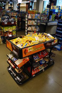 We're disappointed to see an island of candy surrounded by a sea of soda and chips at checkout in this Giant store. (Giant, 5/16, Washington, DC)