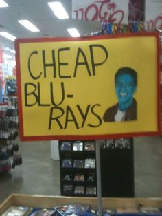 Cheap Blu- Rays