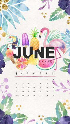 #Calendar June 2018