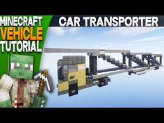 Minecraft how to build a Semi Truck - YouTube