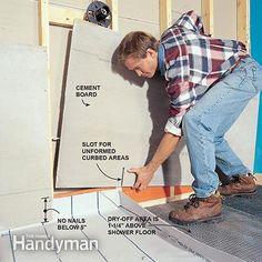 1000 Images About Walk In Shower Framing Amp Tile On