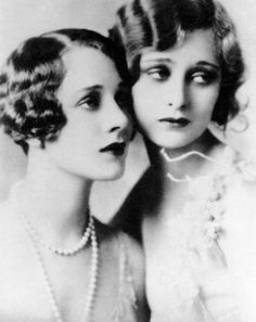 Helene and Dolores Costello - 1920's