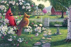 Heartland Serenade - 1000pc EZ Grip Jigsaw Puzzle by Masterpieces
