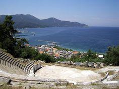 °Thassos (Greece) -Teatro Antico