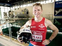 I'm a runner: Tim Peake