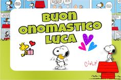 Onomastico Luca Snoopy, Fictional Characters, Pictures, Fantasy Characters