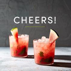 See this Instagram video by @onekingslane • Watermelon Caipirinha recipe. Cheers!