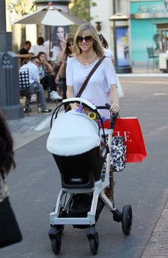 Spotted! Kaitlin Olson with Orbit Baby Stroller - Superstar Babies
