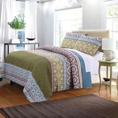 Shangri-La Quilt Set by Greenland Home Fashions | from hayneedle.com