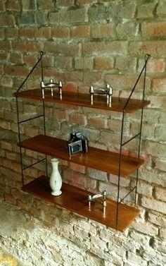 Wandregal String Regal Ärä 3 Böden 60er 70er | eBay