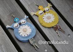 Best 12 crochet patterns crochet love crochet owls by Crochet Owls, Love Crochet, Crochet Patterns, Diy Crafts Crochet, Crochet Projects, Small Crochet Gifts, Crochet Keychain, Crochet Videos, Crochet Accessories