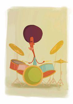 drummer animation