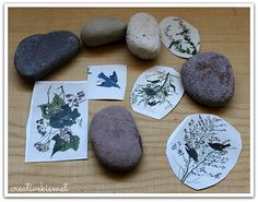 How to transfer images to rocks with matte medium or gel medium Matte Medium, Gel Medium, Medium Art, Rock Crafts, Arts And Crafts, Paper Crafts, Kid Crafts, Foto Transfer Potch, Image Rock