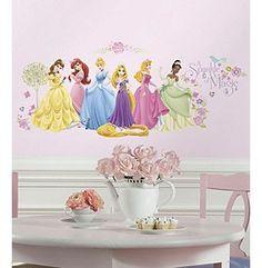 Superb RoomMates Disney Glow Princess Peel u Stick Wall Decals