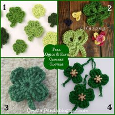 Crystal Panda: St. Patrick's Day Crochet Projects