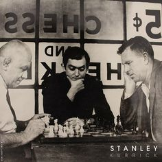 """a7b2511a99bca Stanley Kubrick on Instagram  """"""""Among a great many other things that chess  teaches you is to control the initial excitement you feel when you see  something ..."""