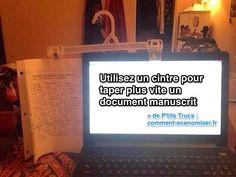 L'Astuce Pour Taper Plus Vite un Document Manuscrit.