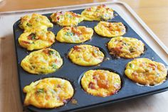 these were so easy to make! we made ham, broccoli, and cheese. ham, peppers, and cheese. and ham and cheese.