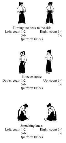 Katsujinken Dojo: Aikido fundamental-Aikido Exercises Toitsu taiso