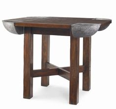 Bob Timberlake Home for Century (T31-309) OYSTER SHUCKER'S BISTRO TABLE  width= 54 in    depth=54 in    height=42.25 in
