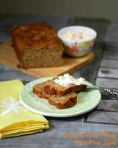 These was such a delicious quick bread with mango and papaya in it! Perfect for brunch or even dessert. Tropical Fruit Bread Low Calorie Low Fat Healthy