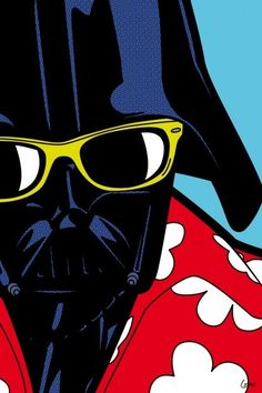 Captain Doubt, Greg Guillemin - Photographie d'art Modern Pop Art, Star Wars Wallpaper, Star Wars Humor, Art Graphique, Vintage Comics, Secret Life, Star Wars Art, Geeks, Comic Art