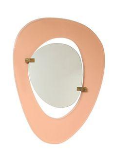 Max Ingrand, 'Rare Asymmetrical Mirror,' ca. 1958, Donzella 20th Century Gallery