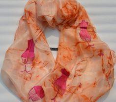 Mode i (pure handmade silk scarf by me)