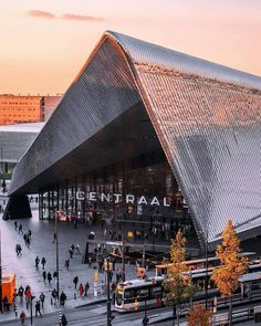 Rotterdam Architecture, Architecture Design, Central Station, Wonderful Places, Holland, Amsterdam, City, Building, Architecture