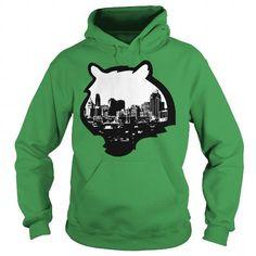 Cincinnati Skyline Bengal Logo Tshirt