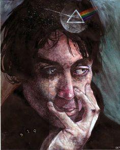 Syd Barrett by *artistic-engine on deviantART