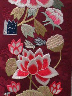 Korean Embroidery by cicilem, via Flickr