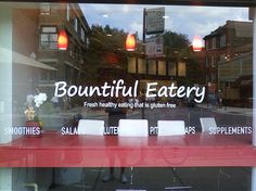 Bountiful Eatery - gluten free restaurant in Chicago
