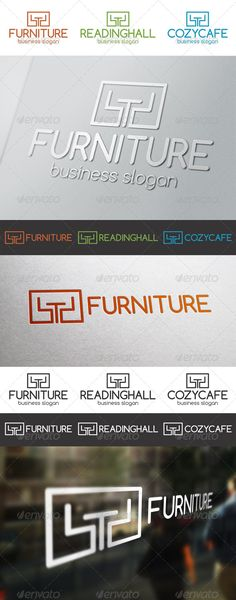 Furniture Multi Purpose Logo – designed for furniture stores or manufacturers. Great logo for interior studios, furniture and home decoration stores. Suitable for cafe, restaurant, bistro, fast food, book store, reading hall and many many other. It is made by simple shapes although looks very professional. The final files include multiple variations of the Logo.