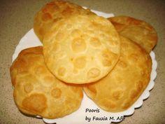 Pooris | Fauzias Kitchen Fun