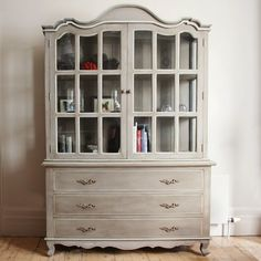 Dry sink/bar done in ASCP French Linen and Duck Egg Blue. Love the ...