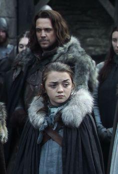 Game of Thrones - Jory & Arya Stark