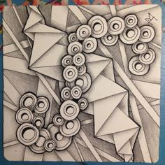 Zentangle Sez and Ing