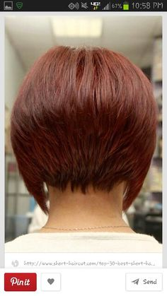 Like the back not to drastic