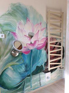 Leknín v koupelně Painting, Art, Art Background, Painting Art, Kunst, Paintings, Performing Arts, Painted Canvas, Drawings