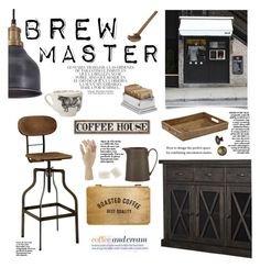Brew Master By Barngirl Liked On Polyvore Featuring Interior Interiors DecoratingInterior DesignMastersAmericaDesign