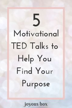 Let& look at some refreshing advice from these awesome TED Talks that can help you find your purpose and explore your passion (or passions). Finding Purpose, Life Purpose, Finding Passion, Purpose Quotes, Passion Quotes, How To Get Motivated, Motivational Quotes, Inspirational Quotes, Mindfulness For Kids