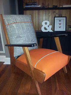 Vintage Armchair - Refurbished by Lisa