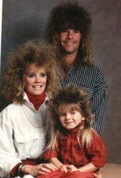 These mullets always make me smile book, awkward family photos. This should be the cover.