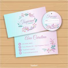 Cartão de Visitas + Logo + Tag