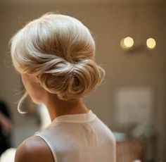 Wedding updo option