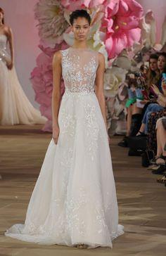 Ines Di Santo's Stunning, Sheer Wedding Dresses for Spring/Summer 2017 | TheKnot.com