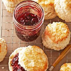 The smooth, rich taste of vintage port takes a classic blackberry jam to new heights. For the best blackberries, start hunting in June, and look for fruit that's fully black and firm./